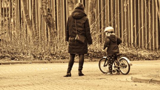 Vær den forælder der vælger cyklen